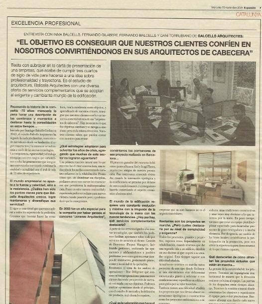 Entrevista en el Diario Expansión