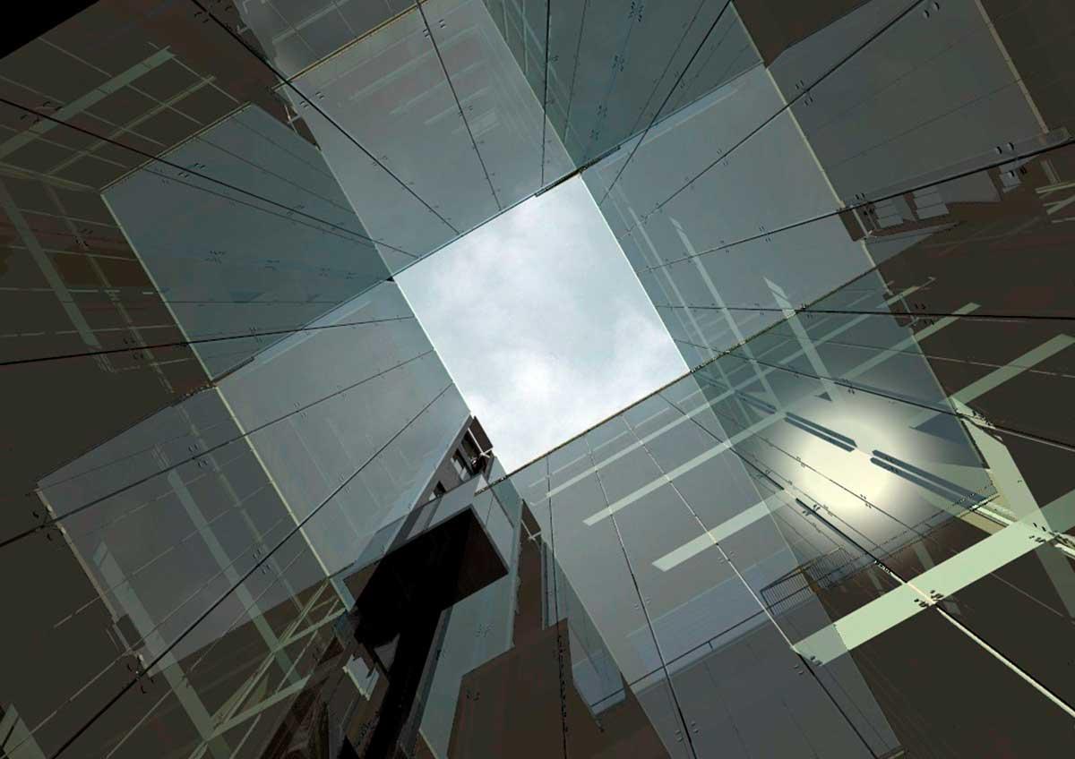 Proyecto de reforma edificio de oficinas en Barcelona.