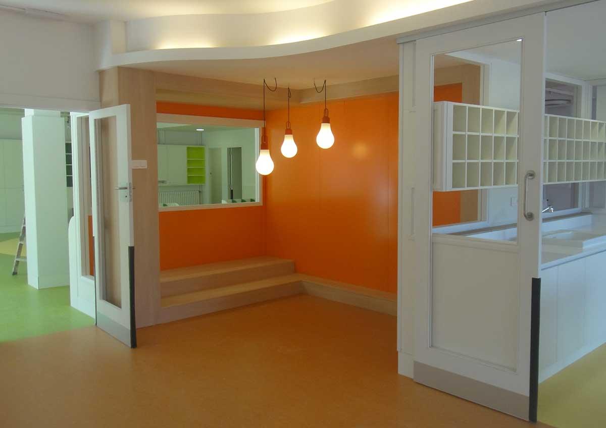 Reforma centro educación en Bellaterra.