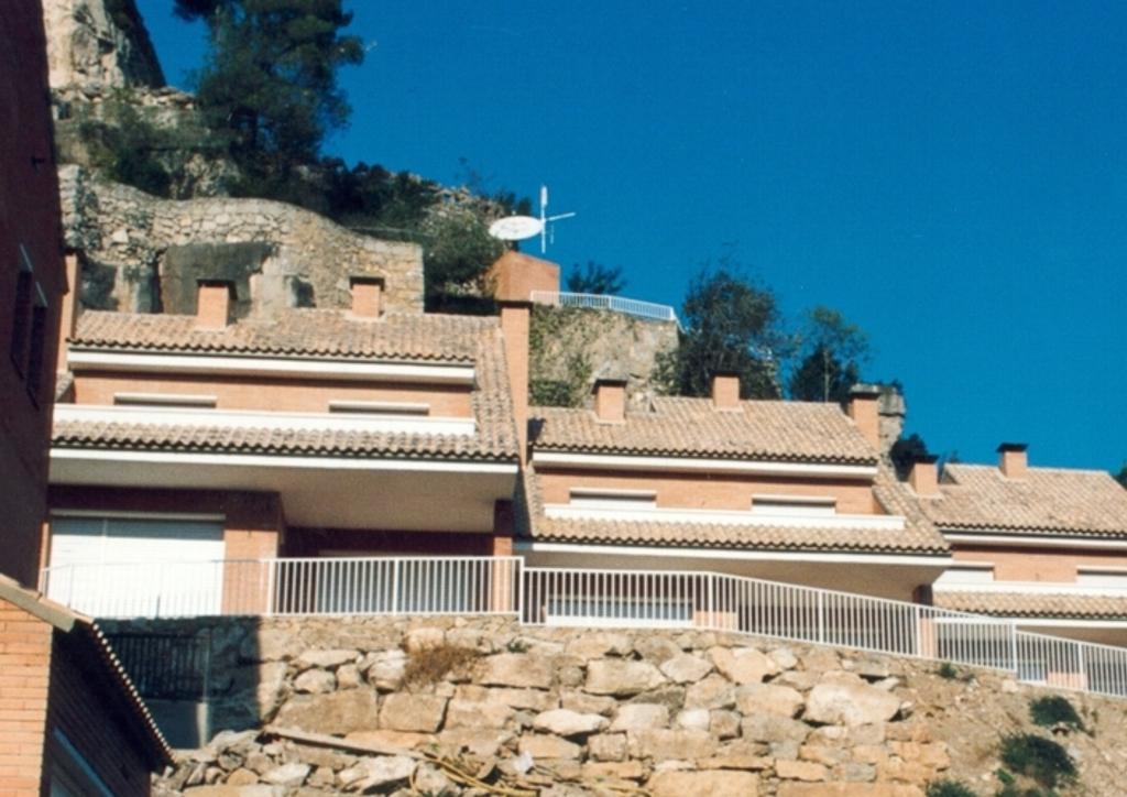 Conjunto residencial en Corbera.