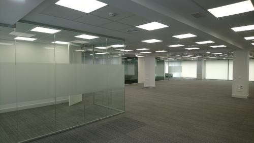 Finalizada la reforma de un oficina en Barcelona