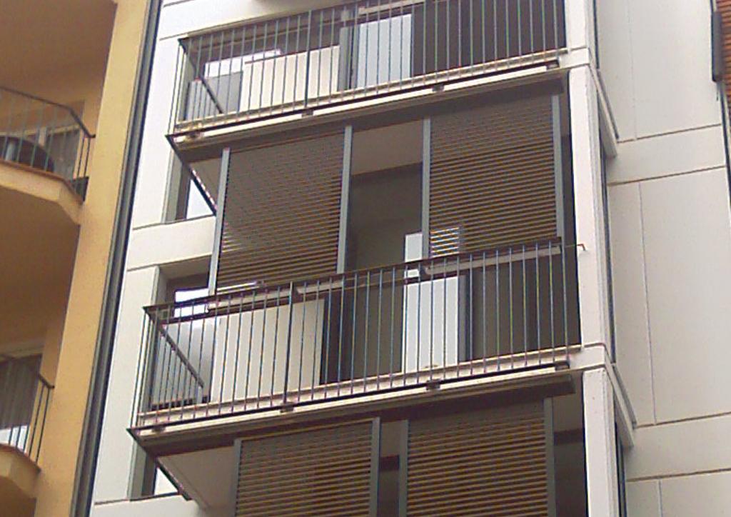 Edificio de viviendas en Barcelona.